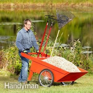 This rugged, durable, DIY garden cart will make your life easier! We'll show you how to build it in just a handful of steps.