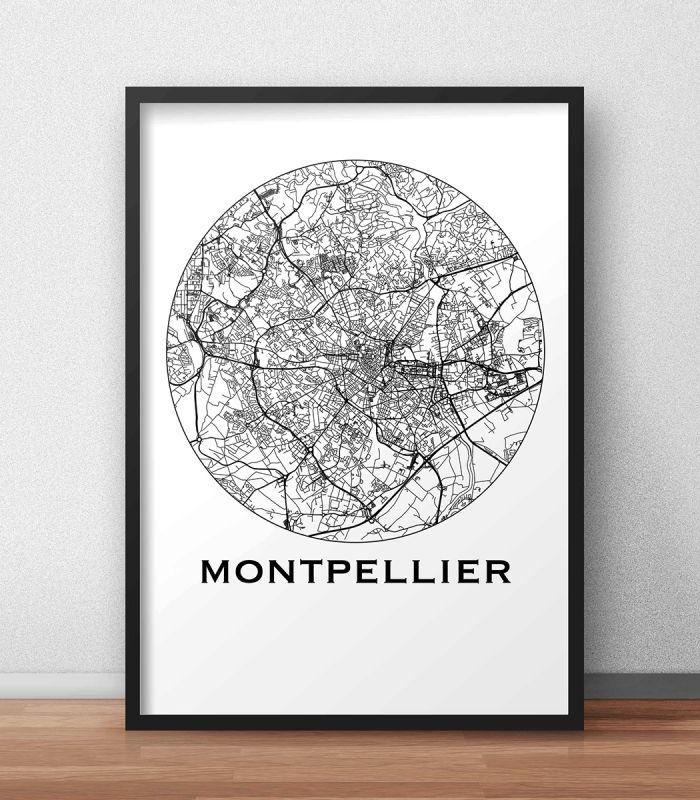 L'affiche City Map Montpellier Minimalist est une création originale de Artmap Design©. ✓ Impression sur papier 200g/m2 blanc. ✓ Livraison gratuite sous enveloppe ou tube cartonné avec numéro de suivi ✓ Satisfait ou remboursé DIMENSIONS POSSIBLES: A4, A3, B2
