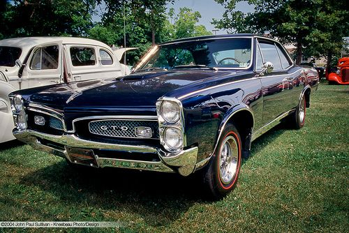 1967 Pontiac Had One In Baby Blue With Baby Blue