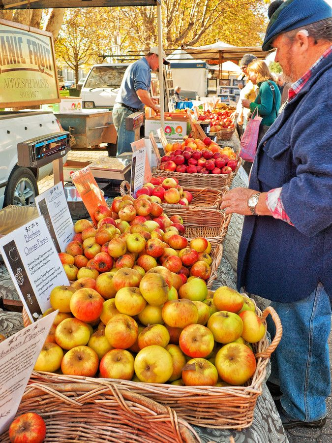 """""""The Apple Isle"""" by Paul Amyes~~Hobart, Tasmania...Heritage varieties of apples, often not seen on the Australian mainland, being sold at the Salamanca Markets, Hobart, Tasmania which is also known as Apple Isle."""