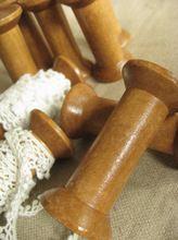 Zakka legno rocchetto di filo pizzi antichi spool dell'annata di cucito di legno spool 2 pz, zs005(China (Mainland))