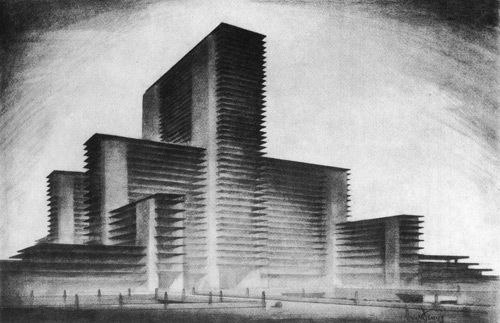 Hugh Ferriss: Delineator of Gotham