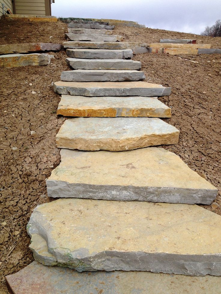 177 best images about stone paths and walkways on for Natural stone walkways