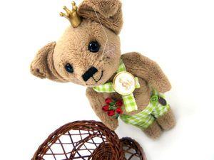 Аукцион на тедди собачку | Ярмарка Мастеров - ручная работа, handmade
