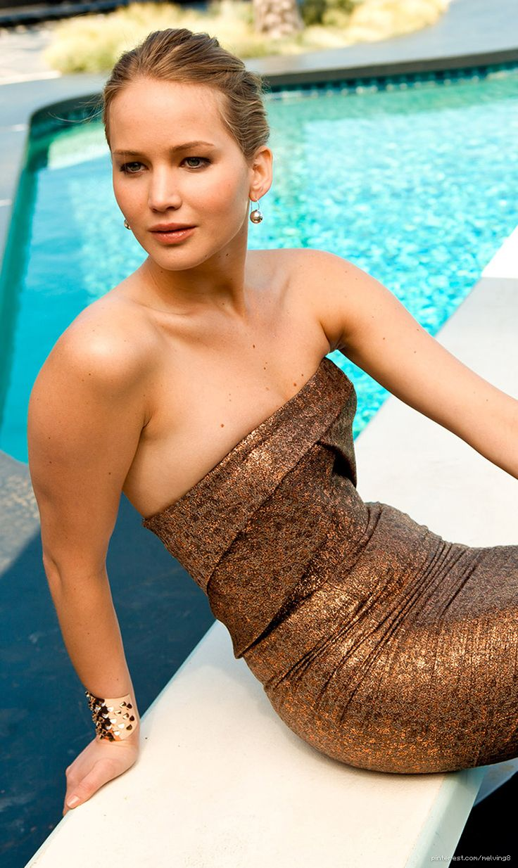 Jennifer Lawrence by Sasha Eisenman