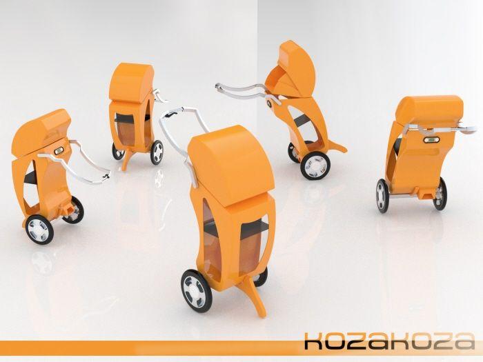 KozaKoza Shopping Trolley by Enver Tatlisu at Coroflot.com