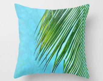 Coussins/couverture de plage, décor Tropical, décor de plage, palmier, dortoir