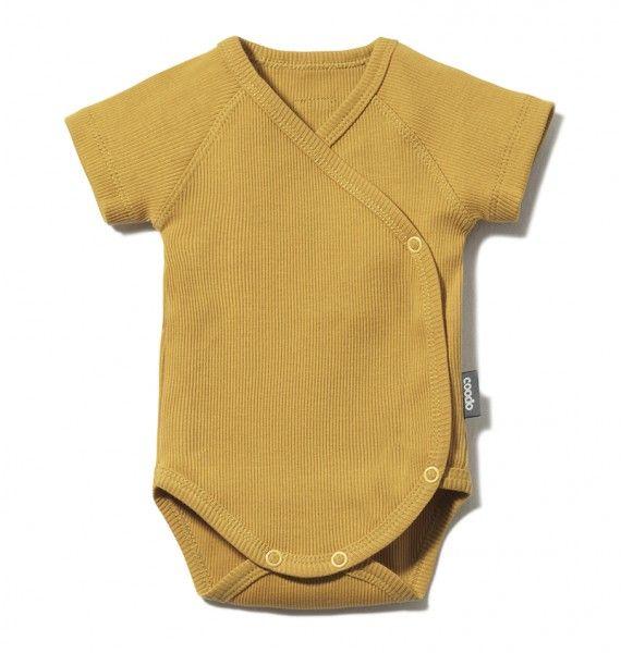 body kopertowe z krótkim rękawkiem z bawełny organicznej