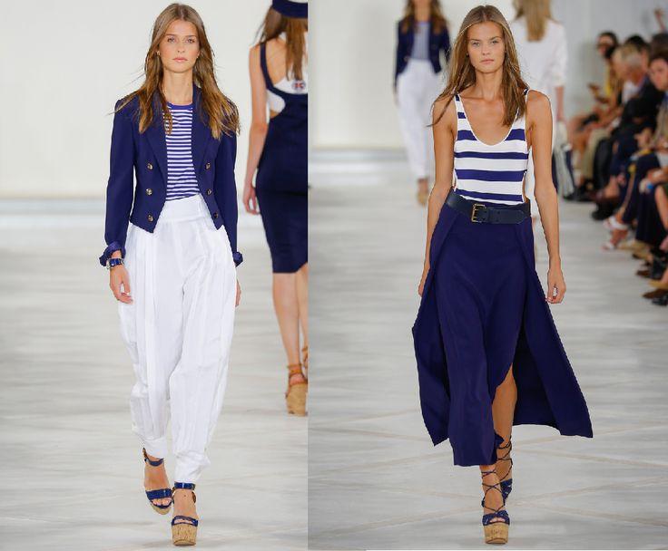 Морской стиль одежды