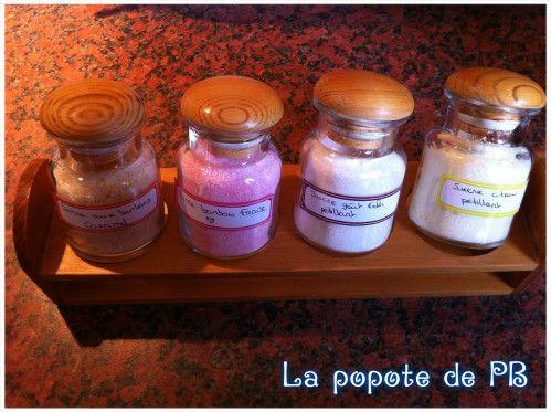 Sucres aromatisés