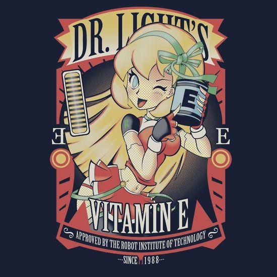 Vitamin E - Mega Man