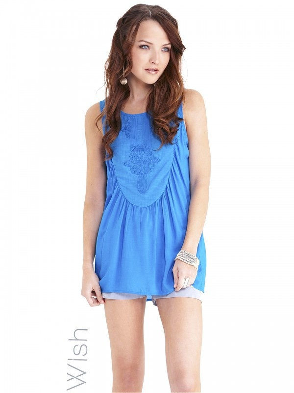 Vacation Tank by WISH  Now: $72.95 #silky #summer