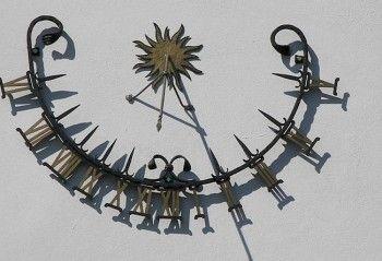 Как сделать точные солнечные часы. :: Цветущая дача