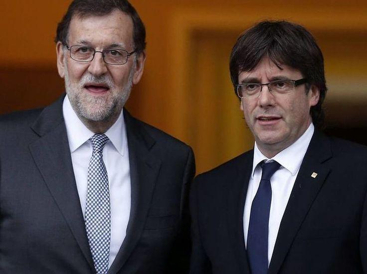 Rajoy interviene el Twitter del Govern y Puigdemont lanza una cuenta paralela