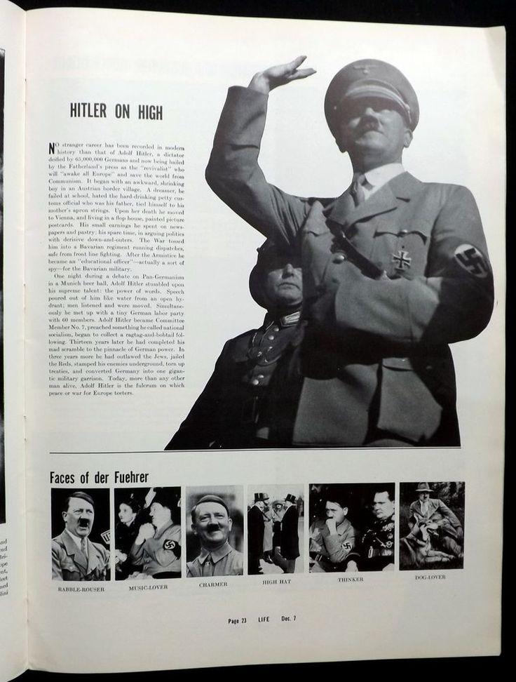 Skiing Hitler Biography Navy Ballet Rachmanoff 1936 December 7 Life Magazine