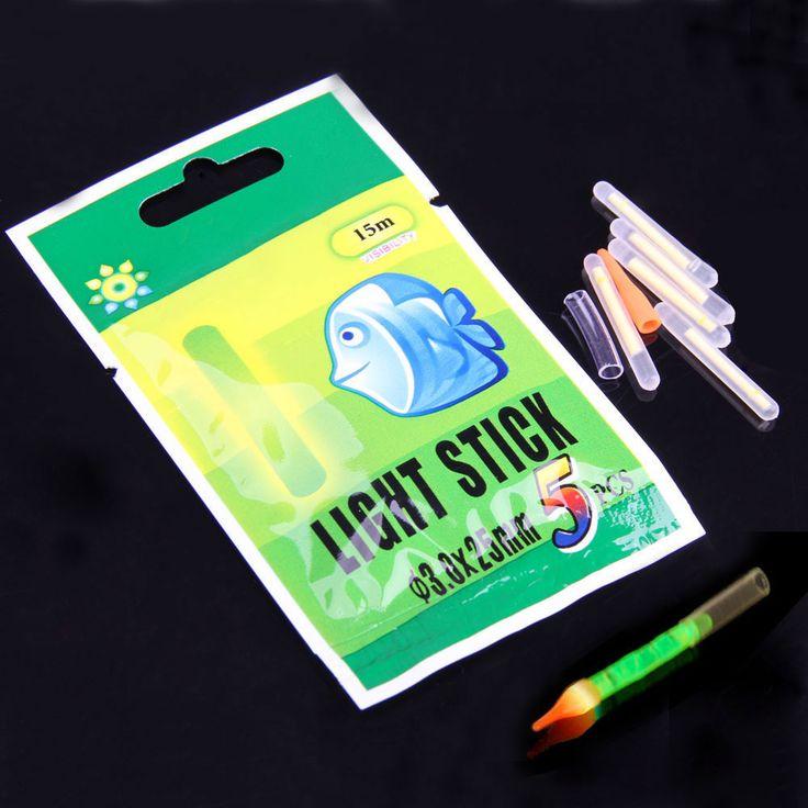50 قطع 3*25 ملليمتر نيون lightstick الكيميائية الوهج العصي الأخضر ل يلة الصيد الصيد اكسسوارات