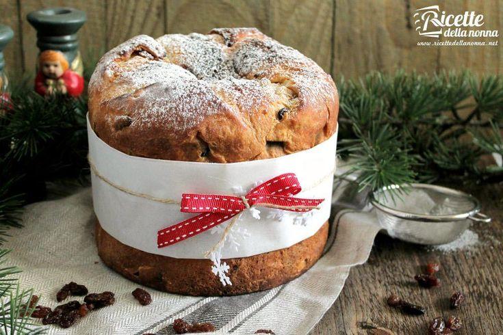 La ricetta facile del panettone classico milanese per farlo in casa col metodo tradizionale della nonna e ottenere un panettone soffice.