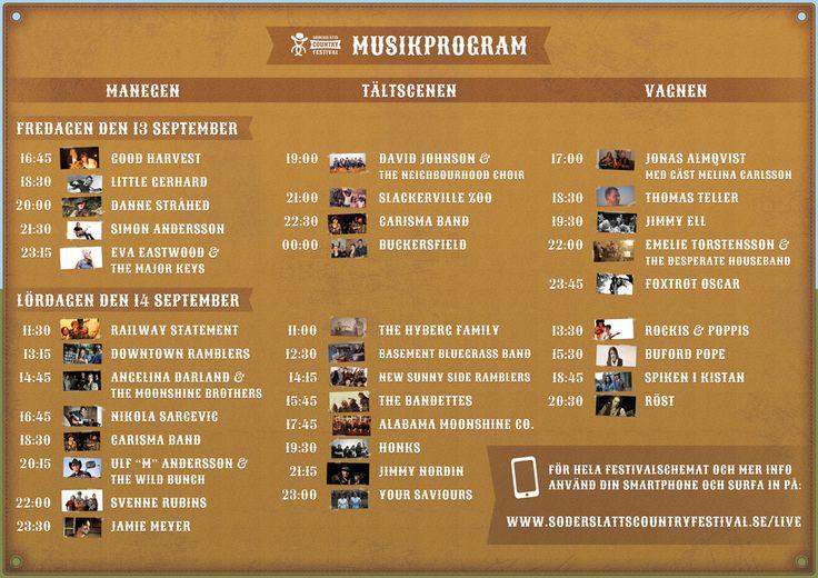 Musikprogram 2013