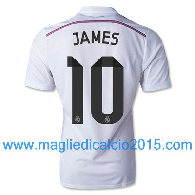Real Madrid magliette da calcio 2014/2015 James Rodríguez 10-Local