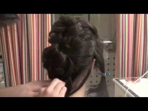 Hair Tutorial: Hermione Granger's Yule Ball Haistyle Recreation! A Beautiful and Cascading Curls Formal Updo!
