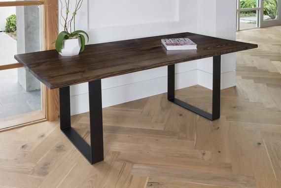 Restaurant Tables For Sale >> Dining Table Kitchen Table Dining U Legs Dark Walnut