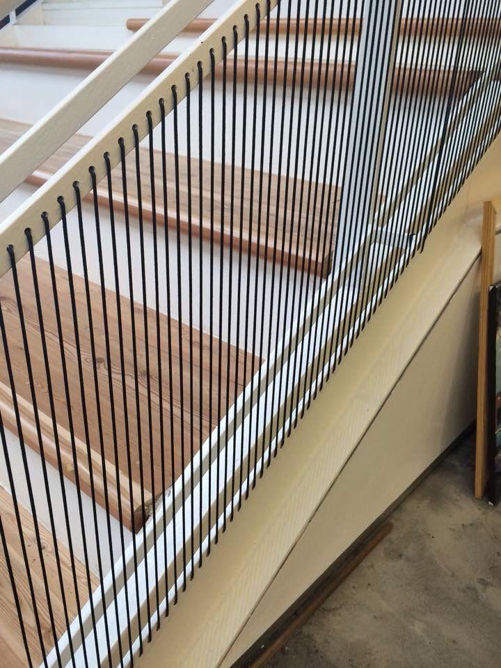 Stair detail - railing/balustrade