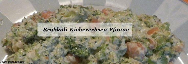 Brokkoli-Kichererbsen-Pfanne