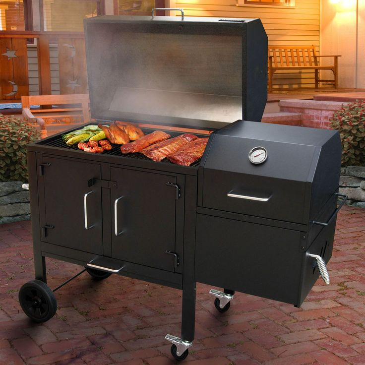 Have to have it. Landmann Black Dog 42XT Charcoal Grill & Smoker $529.99