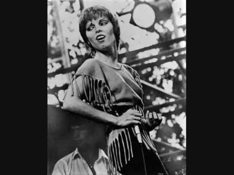 "Pat Benatar:  ""Heartbreaker"".  Pat, I'm yer #1 fan! One of the best concerts I ever went to."