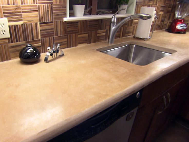 Inspired Examples Of Concrete Kitchen Countertops