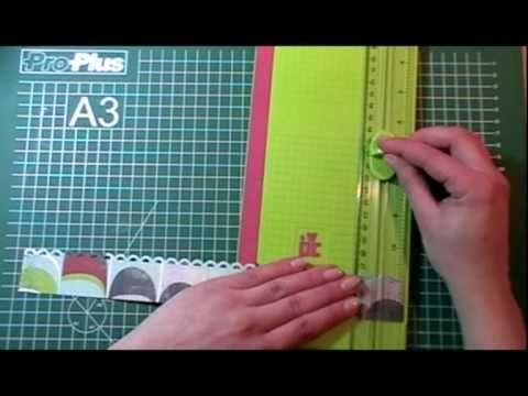 Rozetten maken met een randpons