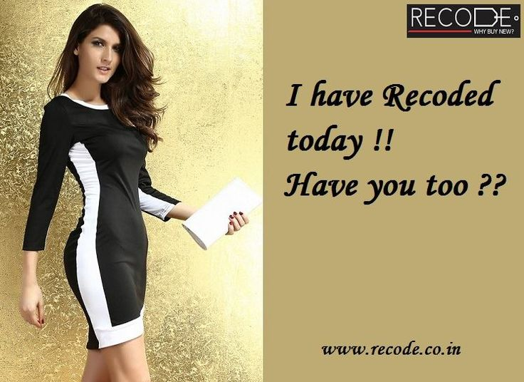 I have Recoded today !! Have you too?? www.recode.co.in