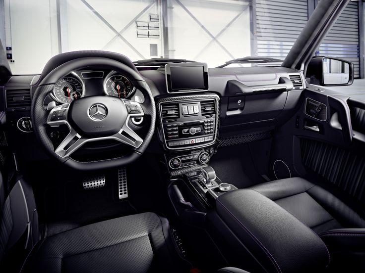 2016 Mercedes-Benz G Class interior