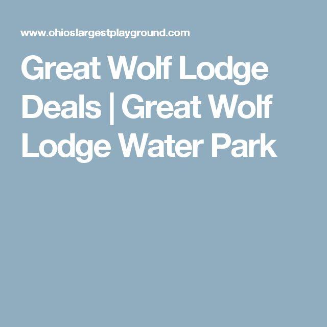 Great wolf deals 2018