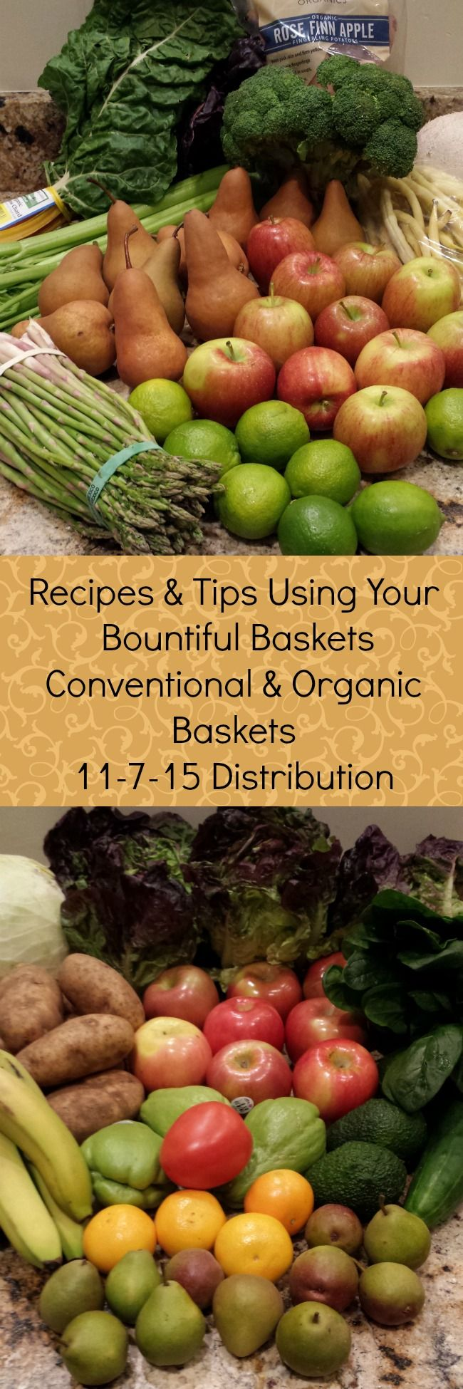 Bountiful Baskets 11-7-15 Pin | A Reinvented Mom, follow the links at the bottom to get to the most recent
