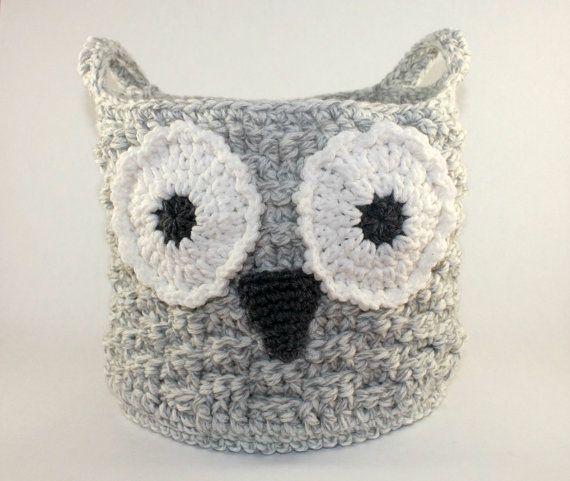 Free Crochet Pattern Owl Basket : 17 Best ideas about Crochet Owl Basket on Pinterest ...