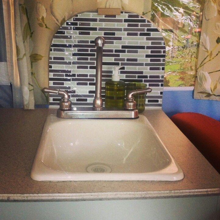 Best Popup Camper Remodel Images On Pinterest Camper - Pop up trailer with bathroom for bathroom decor ideas