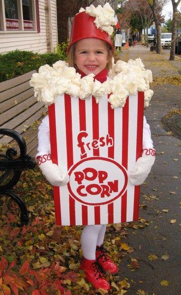 Popcorn Box Costume - Great Stuff Spray Insulation for the popcorn