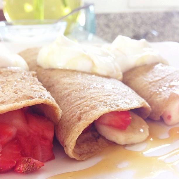 Healthy Crepe Recipe #blogilates