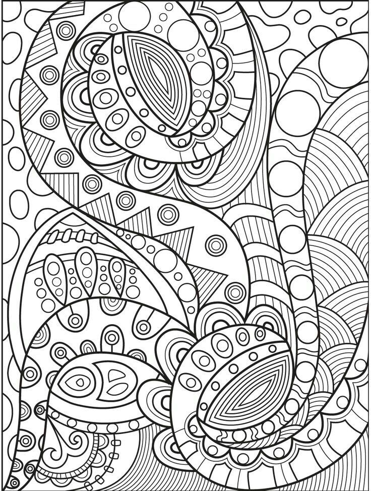 Pin By Karla Liset Vega Carrillo On Color Me Sweary Coloring Pages Abstract Coloring Pages Geometric Coloring Pages Mandala Coloring Pages