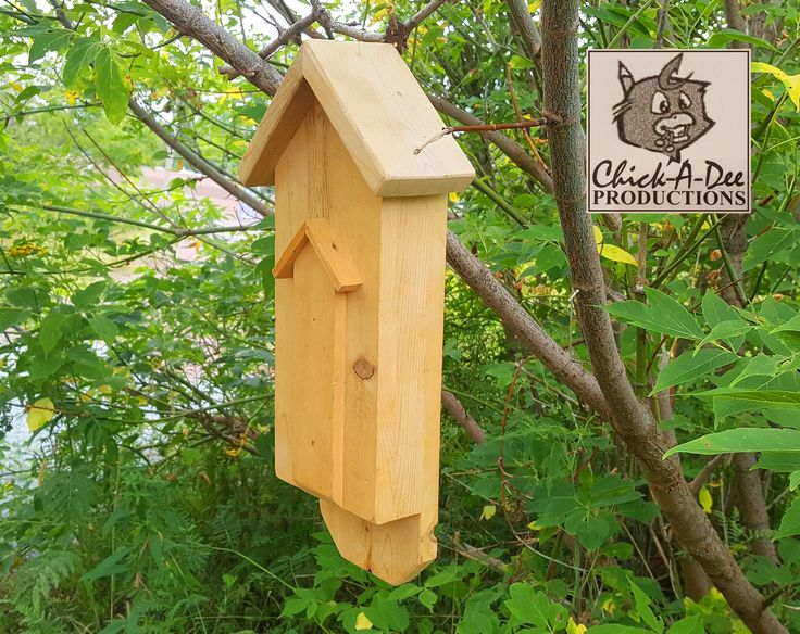 Trendy Little Bat-House:   Bats eat about 7,000 insects each night! Seriously...Google it. Click me to start your bat army today.