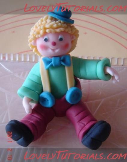 How to make baby boy clown
