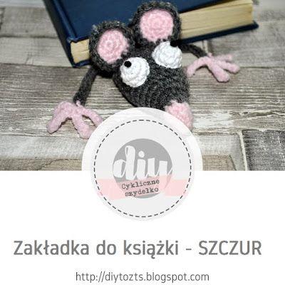 #22 CYKLICZNE SZYDEŁKO - edycja VI - zakładka do książki - SZCZUR #DIY #TUTORIAL #ZAKŁADKA #SZYDEŁKO #HANDMADE #SZCZUR