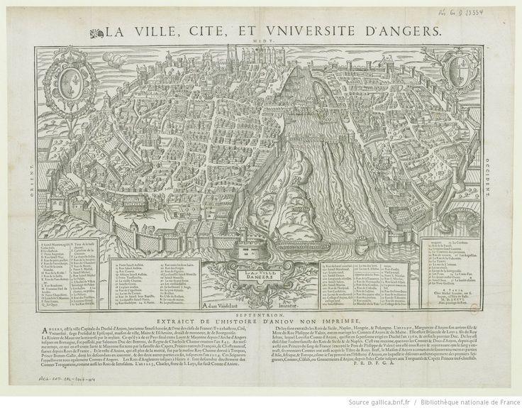 La Ville, Cité, et Université d'Angers / Adam Vandellant Inventor ; Raimon Rancurellus Ciebat 1575