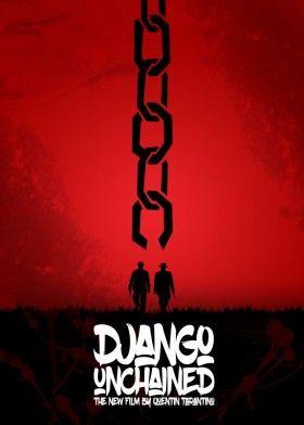 django unchained quentin tarantino movie poster