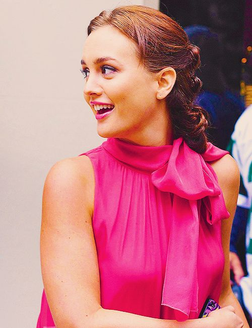 Blair in pink!!