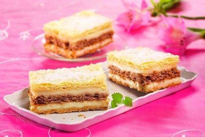 Prăjitură cu cremă de nuci şi de vanilie http://www.antenasatelor.ro/curiozit%C4%83%C5%A3i/tehnologie/8888-prajitura-cu-crema-de-nuci-si-de-vanilie.html