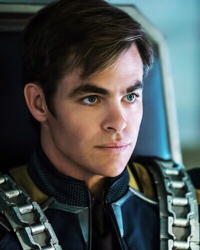 Kirk on-board the Franklin   Star Trek Beyond. Note how they now have seat belts/harnesses... sad, but true... those throwing yourself into the wall scenes were always so much fun.