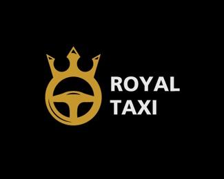 Royal Taxi Logo design - Ideal for taxi