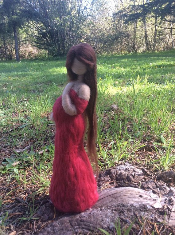 Needle Felted Pregnant Woman Great baby shower gift, expecting mother, maternity, new mom materity blouse top pregnancy